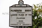 Town of Plymouth - Landing Place of the Pilgrims in 1620